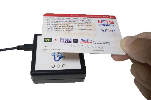 Desktop USB CEPAS CAN Card Reader (Guest Registration)