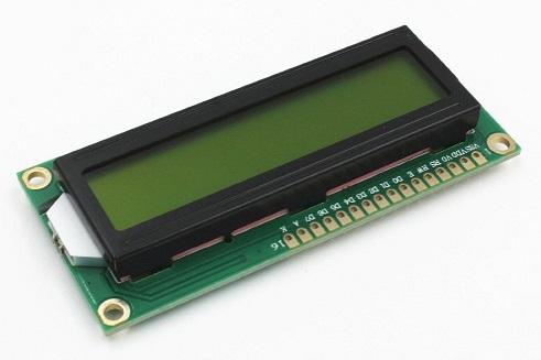 16x2 Alphanumeric LCD Display