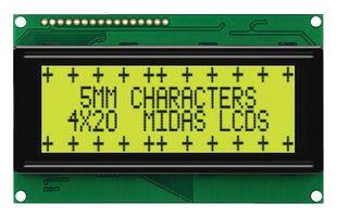 20x4 Alphanumeric LCD Display