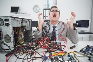 Frustration Integrating System