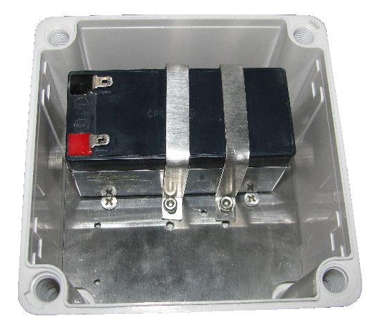 Standard enclosure box build for mobile battery.