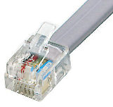 RJ11 6P6C plug