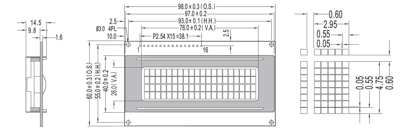 LCD Display Alphanumeric & Dot Matrix | Common Available