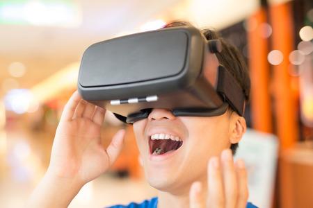 Virtual Reality Simulator Machine creates a realistic training experience.