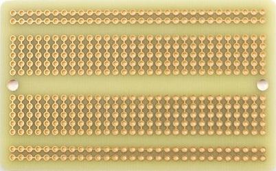 Adafruit Breadboard PCB (back)