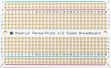 Adafruit Breadboard PCB (front)