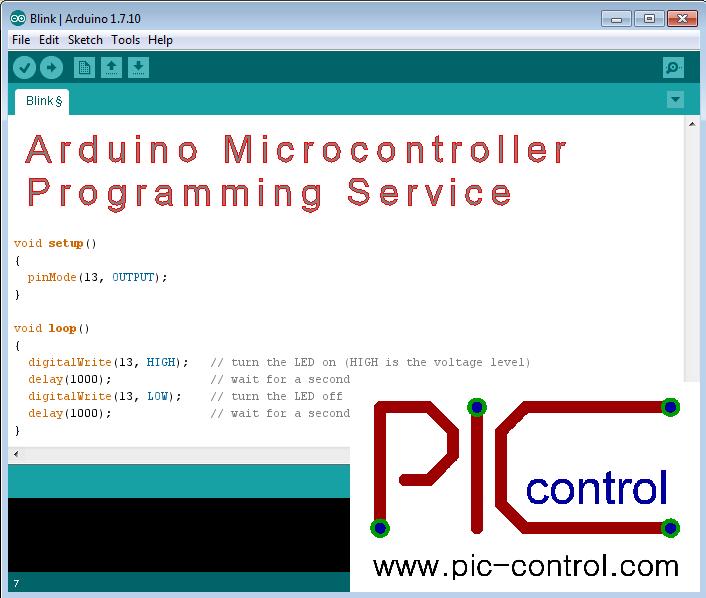 Arduino Microcontroller Programming Service