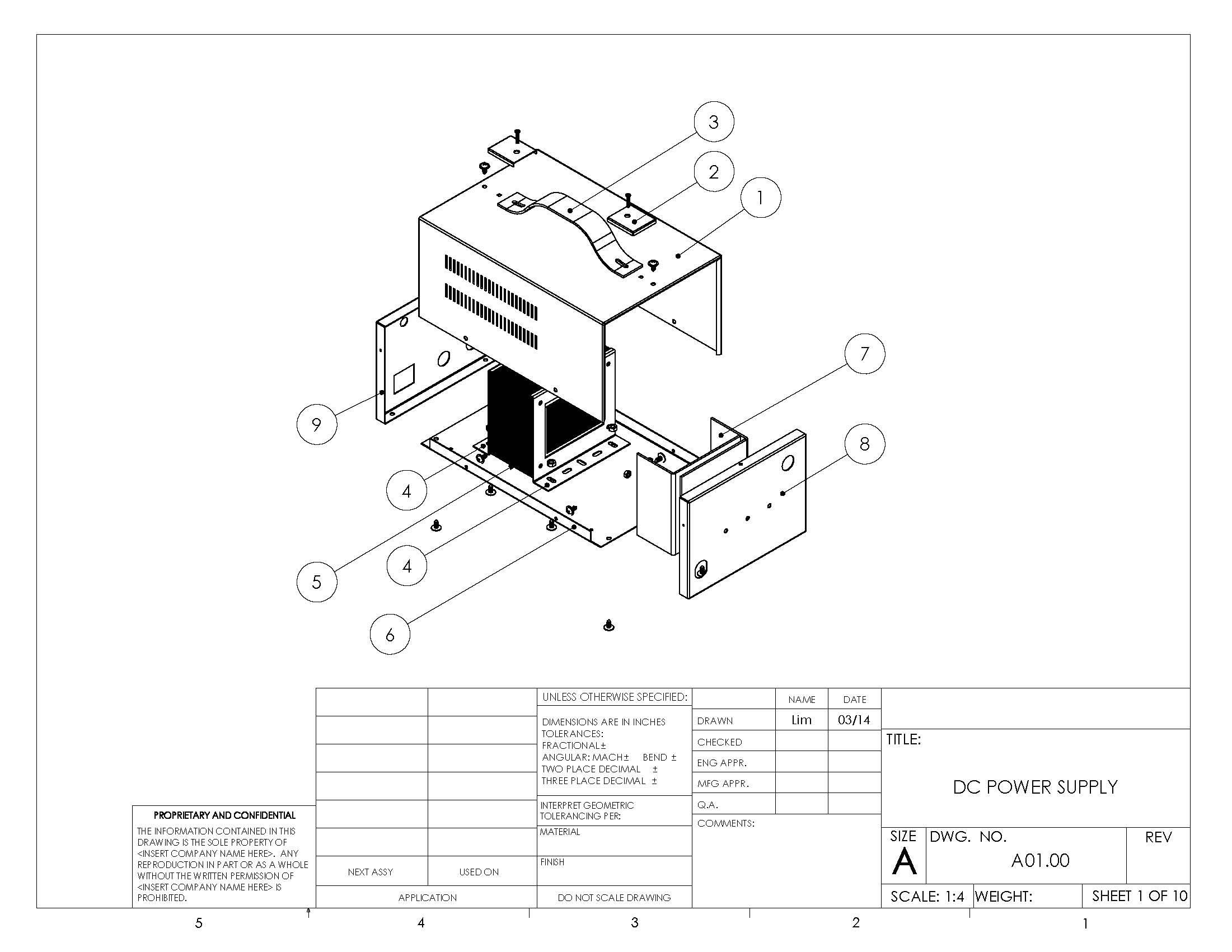 mechanical design illustration