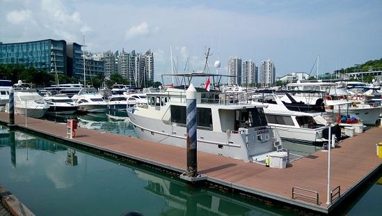 Yacht repair service Singapore