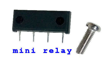 mini relay, miniature small size