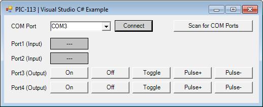 PIC-113 C# Example 1