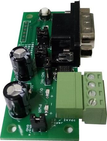 RS232 pulse output accept a wide range of voltage input. 7V, 9V, 12V to 24V.